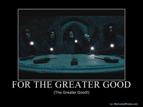 Greater Good Morals