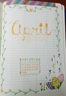 Bujo Apr 1